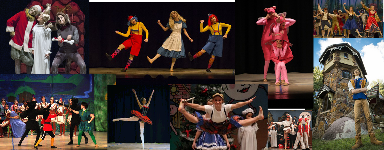 CDT Dancers Peform Children's Stories